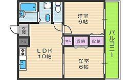 MAX2[4階]の間取り
