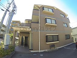 兵庫県川西市丸の内町の賃貸マンションの外観