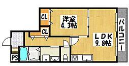 兵庫県神戸市垂水区舞子坂3丁目の賃貸マンションの間取り