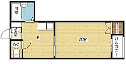 エクトI[2階]の間取り