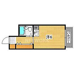 文華堂マンション[302号室号室]の間取り