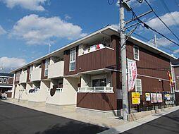京都府京都市山科区小野御霊町の賃貸アパートの外観