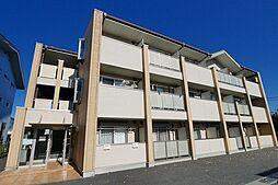 群馬県高崎市上中居町の賃貸マンションの外観