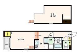ハーモニーテラス加美正覚寺[1階]の間取り