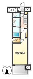 グランドソレイユ名駅[8階]の間取り