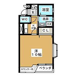 Villa Chantee[2階]の間取り