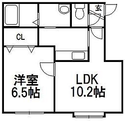 パレットコートK[2階]の間取り