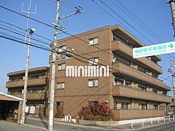 愛知県名古屋市緑区桶狭間巻山の賃貸マンションの外観
