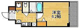 スワンズ京都七条リベルタ[202号室号室]の間取り