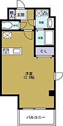 ヴィラK&F2[7階]の間取り