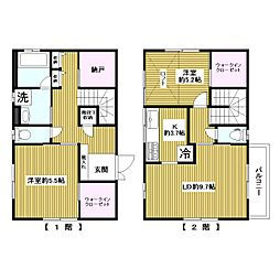 [一戸建] 東京都板橋区西台1丁目 の賃貸【/】の間取り