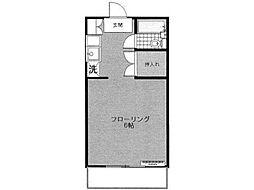 京王ハイツ[1階]の間取り