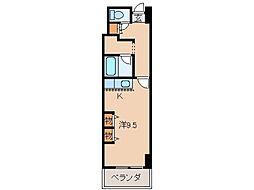 パンテオン[5階]の間取り