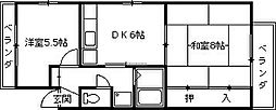 リベルタ21[301号室]の間取り