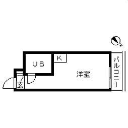 TOP・三軒茶屋第3[0311号室]の間取り