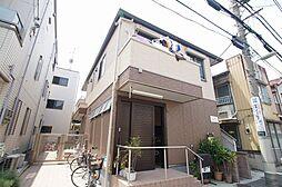 東京都大田区西蒲田3丁目の賃貸アパートの外観