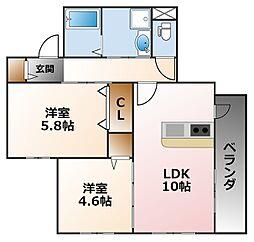 (仮称)小松町マンション[3階]の間取り