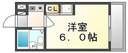香川県高松市成合町の賃貸マンションの間取り