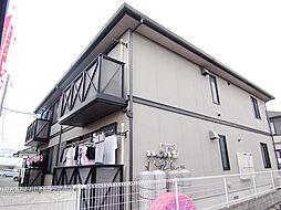 神奈川県足柄上郡大井町上大井の賃貸アパートの外観