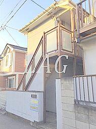 東京都世田谷区上馬1丁目の賃貸アパートの外観