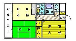 森の元ビル[2階]の間取り