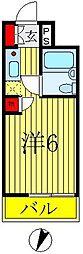 ウィンベルソロ八柱第5[102号室]の間取り