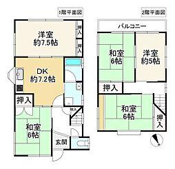 南生駒駅 1,080万円