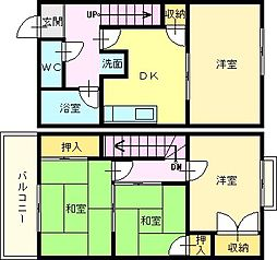 [テラスハウス] 大阪府堺市東区白鷺町2丁 の賃貸【/】の間取り