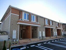 兵庫県姫路市飾磨区阿成鹿古の賃貸アパートの外観