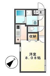 Branche覚王山(ブランシェ)[3階]の間取り