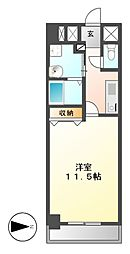 CASSIA錦本町通(旧スタジオスクエア錦)[5階]の間取り