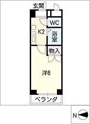 こばやしハイム[3階]の間取り