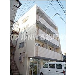 香川県高松市松福町2丁目の賃貸アパートの外観