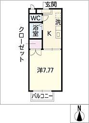 アネモス[2階]の間取り