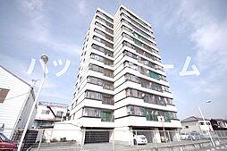 兵庫県姫路市網干区新在家の賃貸マンションの外観
