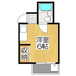 吉田マンション[302号室]の間取り