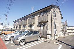 茨城県守谷市中央3の賃貸アパートの外観
