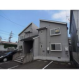 静岡県静岡市清水区中矢部町の賃貸アパートの外観