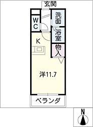 バローネT[2階]の間取り
