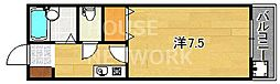 ウエストランドハイム21[107号室号室]の間取り