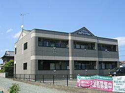 三重県伊勢市小俣町湯田の賃貸アパートの外観