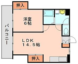 プロスパー60[2階]の間取り