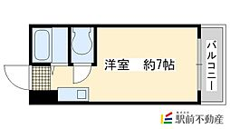 藤田マンション[3階]の間取り