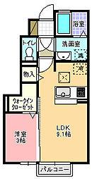 コスタ舟入[103号室]の間取り