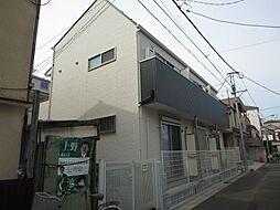東京都江戸川区南小岩3丁目の賃貸アパートの外観