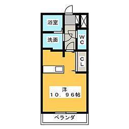 Seize Bonheur[4階]の間取り