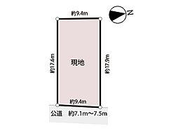 広々の約51坪の整形地。