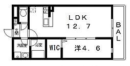 ドミソレイユII[103号室号室]の間取り