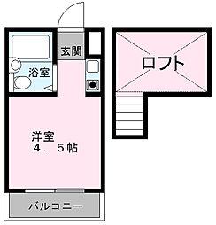 マザーグース[2階]の間取り