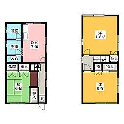 [一戸建] 愛知県名古屋市南区寺崎町 の賃貸【/】の間取り